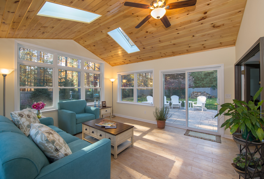 how to build a sunroom addition