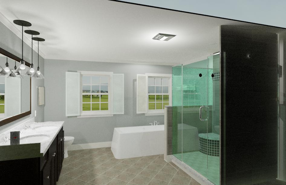 Hearthstone Master Bathroom Hinman Construction Remodeling And Home Construction Company