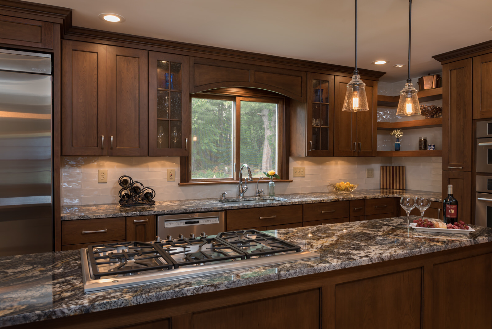 Custom Kitchen With Custom Cabinets - Hinman Construction