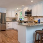 Kitchen Remodel With Custom Greenfield Cabinets - Hinman Construction