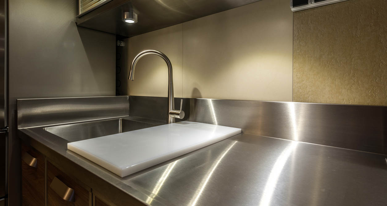 Are Stainless Steel Countertops Right For Your Home Hinman Construction Remodeling And Home Construction Company Saratoga Ny